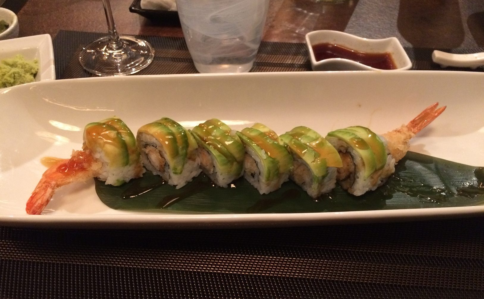 G-sushi Uramaki Dragon Roll